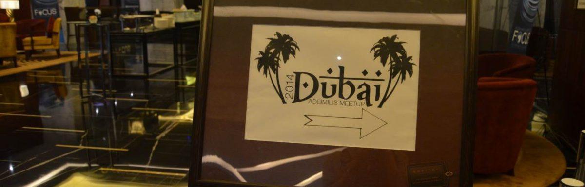 Adsimilis Meetup 2014 – Dubai