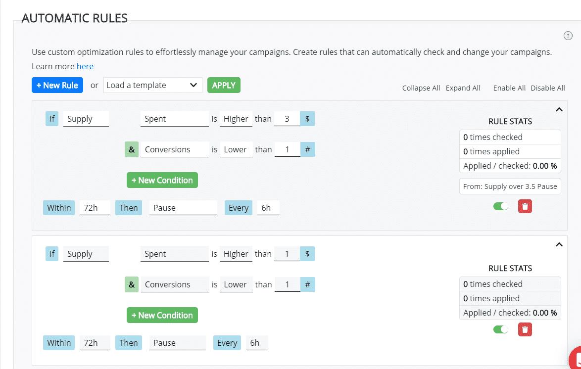 Auto optimization