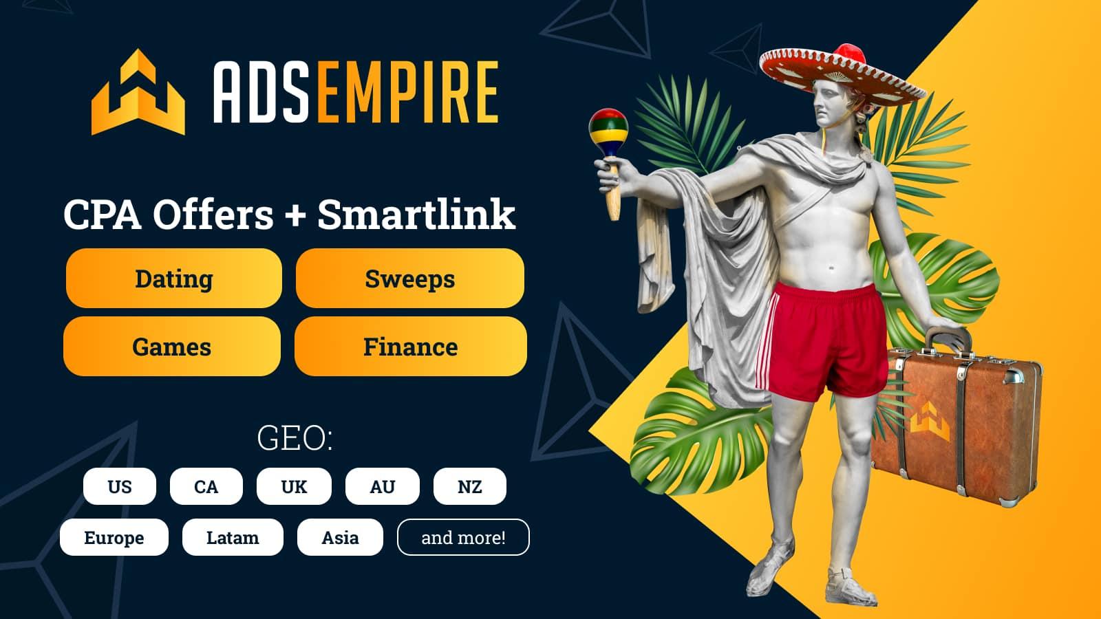 AdsEmpire affiliate network